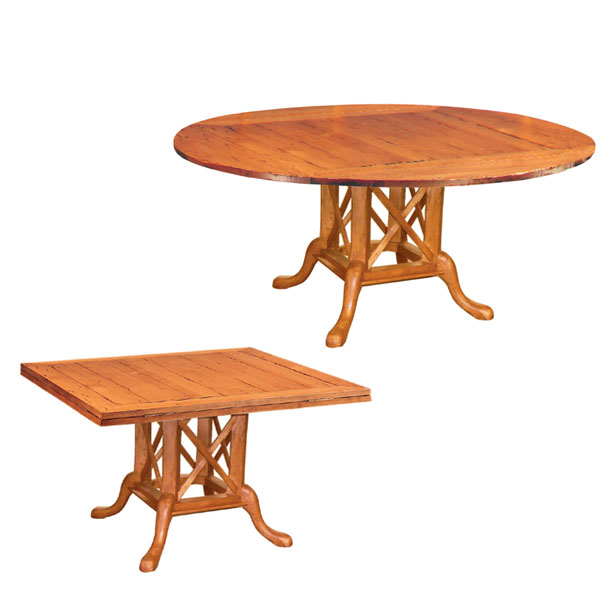 50139 Square to Round Dining Table