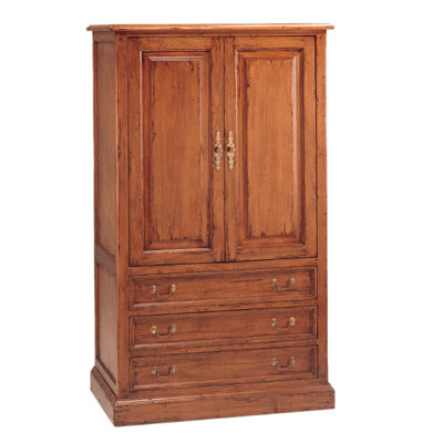 52134 country english bedroom armoire. Black Bedroom Furniture Sets. Home Design Ideas