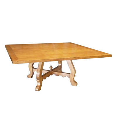 Custom Square Montecito Dining Table - Fremarc dining table