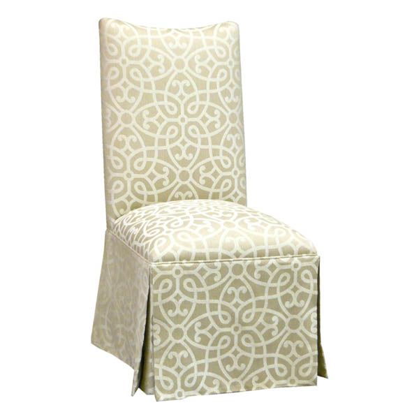 15240-S Upholstered Side Chair with Skirt