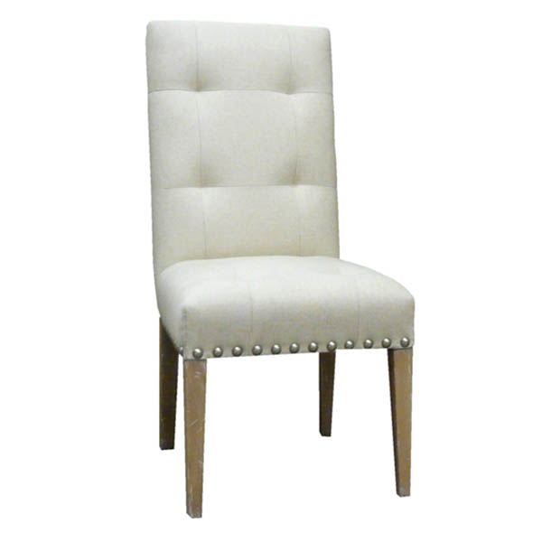 #15210 Buttoned Back Side Chair