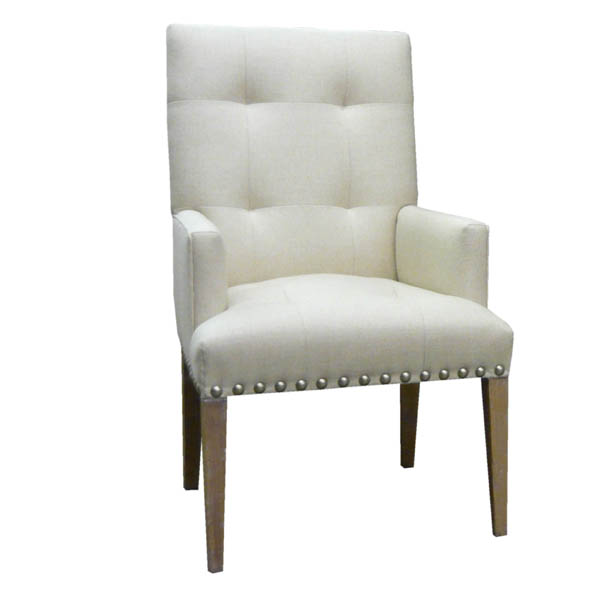 #15211 Buttoned Back Arm Chair