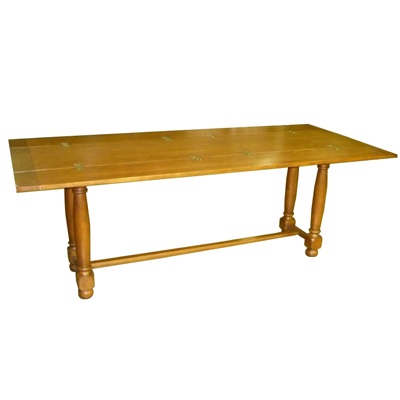 how to draw a dining table