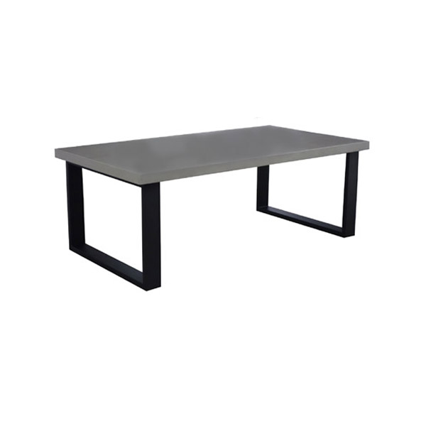 cocktail tables. 105430 Iron Cocktail Table + Concrete Finish Top Tables