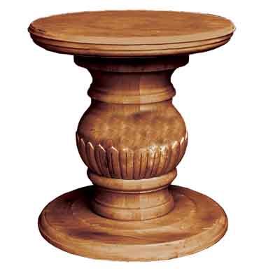 66000 Carved Pedestal Base Only